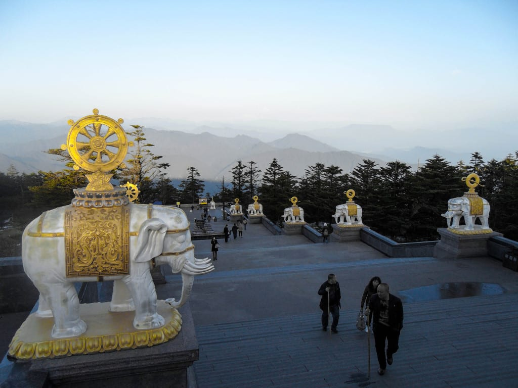 Emei mountain, Sichuan province, China